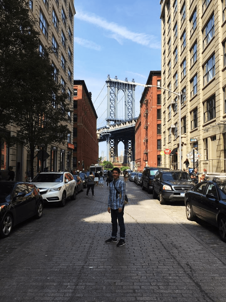 本当に行けると思っていなかった研究でニューヨークへ